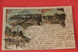 06 Nice Gruss 16.02.1898 Sent To Nicoline Brescia - Nizza