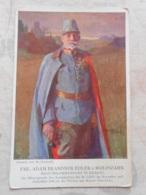 CPA Patriotique Patriotika Guerre 14-18 1wk Ww1 Wk1 Feldpost Militaria  Edler Wolfszahn - Guerre 1914-18