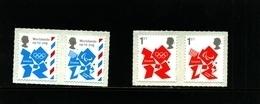 GREAT BRITAIN - 2012  OLYMPICS LOGO  SET   MINT NH - 1952-.... (Elisabetta II)