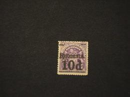 RHODESIA SUD - 1909 STEMMA 10 P.su 3  - NUOVO(+) - Southern Rhodesia (...-1964)