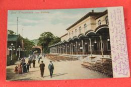 Rheinland Pfalz Bad Kreuznach Das Kurhaus 1905 Sent From Liteni Romania To Nigoline Brescia - Bad Kreuznach