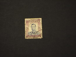 RHODESIA SUD - 1938 RE  2/6 Sh. - TIMBRATO/USED - Southern Rhodesia (...-1964)