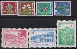 Belgie    .    OBP   .     834/840        .     **     .    Postfris ZONDER  Charnier    .  / .  Neuf SANS  Charniere - Belgien