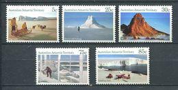 240 AUSTRALIE Territoire Antarctique 1984 - Yvert 63/67 - Montagne Iceberg Traineau Chien - Neuf ** (MNH) Sans Charniere - Australian Antarctic Territory (AAT)