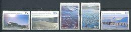 240 AUSTRALIE Territoire Antarctique 1985 - Yvert 68/72 - Montagne Chenal Manchot Empereur - Neuf **(MNH) Sans Charniere - Australian Antarctic Territory (AAT)