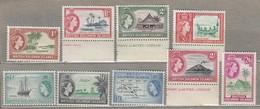 BRITISH SOLOMON ISLANDS 1963-1964 Mi 104-112 SG 103-111 MNH(**) READ #23488 - Iles Salomon (...-1978)