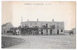 """HERBLAY - La Patte D'Oie (Hôtel Du Cycle - Touring Club De France) - Cachet Chaussures """"Incroyable"""" De Paris Asnières - Herblay"""