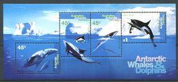 240 AUSTRALIE Territoire Antarctique 1995 - Yvert BF 1 - Baleine Dauphin - Neuf ** (MNH) Sans Charniere - Australian Antarctic Territory (AAT)
