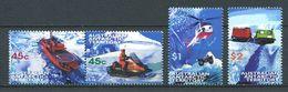 240 AUSTRALIE Territoire Antarctique 1998 - Yvert 115/18 - Navire Helicoptere Motoneige - Neuf ** (MNH) Sans Charniere - Australian Antarctic Territory (AAT)