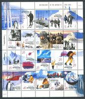 240 AUSTRALIE Territoire Antarctique 2001 - Yvert 125/44 - Expedition Manchot Helicoptere - Neuf ** (MNH) Sans Charniere - Australian Antarctic Territory (AAT)