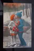 Children, Kids Kinder Enfants, Boy Girl Couple, Garcon Fillette, Vintage - Couples