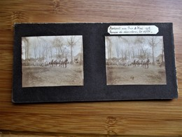 28/41 Photo Stéréoscopique Guerre 14/18 -NOVIANT Aux PRES Mai 1915 Remise De Décorations - Le Défilé - Stereo-Photographie