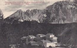 AK Karersee-Hôtel Mit Dem Latemar An Der Dolomitenstraße - Tirol - 1914 (37786) - Italien