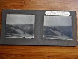 29/41 Photo Stéréoscopique Guerre 14/18 - TOUL Juin 1915 Défilé Du 107 Eme Devant Le Général Descoing - Stereo-Photographie