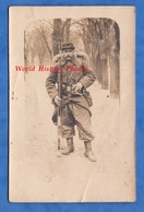 CPA Photo - SAINT BRIEUC - Portrait D'un Poilu Du 71e Régiment D' Infanterie - Voir Uniforme , Képi , Arme Fusil WW1 - War 1914-18