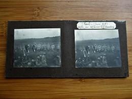 30/41 Photo Stéréoscopique Guerre 14/18 - TOUL Juin 1915 Défilé Du 107 Eme Devant Kle Général Dascoin - Stereo-Photographie
