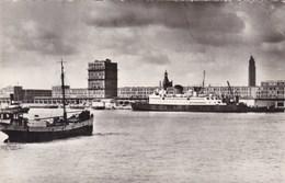 Le Havre, Les Nouveaux Quais, Le Paquebot Normannia, Courier D'Angleterre (pk50925) - Le Havre