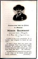Souvenir Hamon Sourimant. Décédé à Plougoulm 1962. Conseiller Paroissial. Mérite Diocésain. - Faire-part