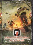 MARTYRS, 2017, MNH, FIREFIGHTERS,  FIREMEN, 1v - Firemen