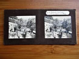 35 / 41 Photo Stéréoscopique Guerre 14/18 - BOIS De MORTMARE Avril 1915 Vue Du P.C Aux Carrieres De Flirey - Stereo-Photographie