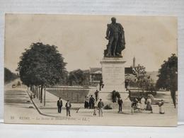 Reims. Statue De Drouet-d'Erlon. Animée - Reims