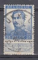 120 Gestempeld UKKEL-UCCLE 1 A - COBA 8 Euro + Cote 22,00 - 1912 Pellens