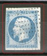 N° 14A° Bleu Ciel_roulette De Tirets_PT5a=cote70.00_+ Voisin_petit Clair - 1849-1876: Klassik