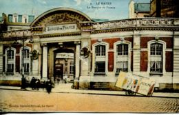 N°66466 -cpa Le Havre -la Banque De France- - Banques
