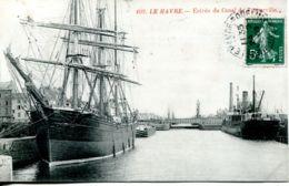 N°66467 -cpa Le Havre -entrée Du Canal De Tancarville- - Commerce