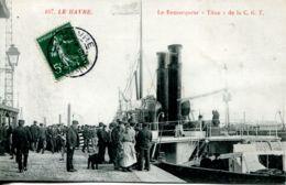 "N°66468 -cpa Le Havre -le Remorqueur ""Titan"" - Remorqueurs"