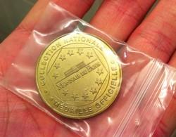 """Neuf Rare Médaille Monnaie De Paris Commémorative Officiel """" La Géode """" Paris Année 1999 Rare ! Jeton Patrimoine France - Monnaie De Paris"""