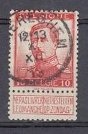 118 Gestempeld WAEREGHEM - COBA 4 Euro - 1912 Pellens