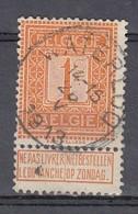 108 Gestempeld WATERLOO - COBA 4 Euro - 1912 Pellens