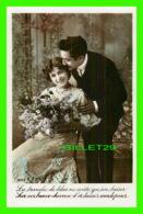 COUPLES - LA BRANCHE DE LILAS NE COÛTE QU'UN BAISER ... - ÉCRITE - - Couples