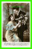 COUPLES - LES GRAPPES DE LILAS SONT CLOCHETTES D'ARGENT ... - ÉCRITE - - Couples
