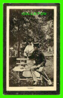 COUPLES - FIRE FOR MY PIPE - SOLDIER - TRAVEL IN 1910 - MCMV BY P. J. PLANT - - Couples