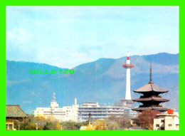 KYOTO, JAPON - KYOTO TOWER AND PAGODA OF TO-JI TEMPLE - - Kyoto