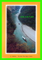 THE THREE GORGES, CHINE - THE LESSER THREE GORGE IN AUTUMN - DIMENSION 22 X 16 Cm - - Chine