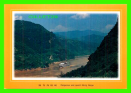 THE THREE GORGES, CHINE - DANGEROUS AND QUAINT XiLING GORGE - DIMENSION 22 X 16 Cm - - Chine