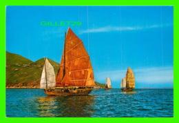 HONG KONG, CHINE - TH FISHING JUNK - - Chine (Hong Kong)