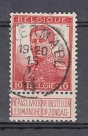 111 Gestempeld WATERMAEL - COBA 6 Euro - 1912 Pellens