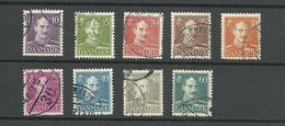 DINAMARCA 1942/44  KING CHRISTIAN X - Dinamarca
