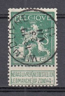 110 Gestempeld WENDUYNE - COBA 4 Euro - 1912 Pellens