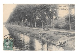 (22391-35) Redon - La Baignade - Le Canal - Animé - Redon