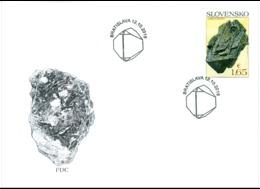 FDC 669 - 670 Slovakia Minerals 2018 - Minerals