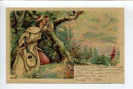 Tannhäuser Diable Carte Transparente - Personnages Historiques