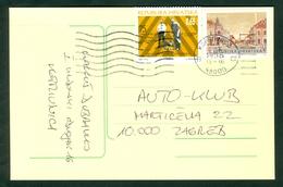 Croatia 1996 Insulin Medicine Diabetes Stationery Letter Cover Michel 88 - Kroatien
