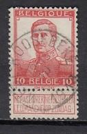 111 Gestempeld WEST-ROOSEBEKE - COBA 15 Euro - 1912 Pellens