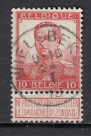 111 Gestempeld WIELSBEKE - COBA 15 Euro - 1912 Pellens