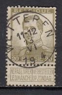 119 Gestempeld WETTEREN - COBA 4 Euro - 1912 Pellens